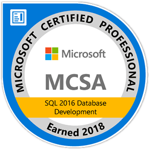 mcsa--sql-2016-database-development
