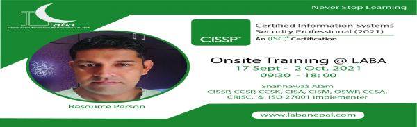 Certified Information Systems Security Professional (CISSP 2021)