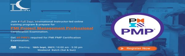 9th Live Online Training Workshop on PMP PMBOK 6 Training and Certification